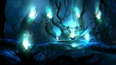 ori and the blind forest background art - Google Search