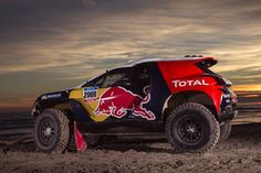 Peugeot mean business on their return to the Dakar