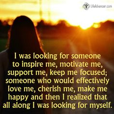I was looking for someone to inspire me motivate me via @lifeadvancer #quotes