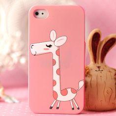 $7.75 iphone 4 4S shell cartoon cute rabbit baby elephant Winnie the Apple phone shell protective sleeve-ZZKKO