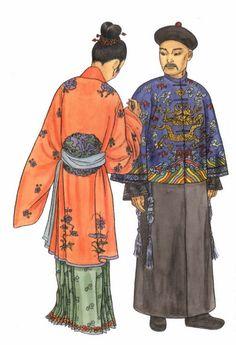 Chinese Traditional Costume Cheongsam