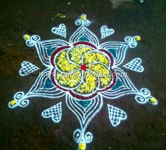 *TODAY THOUGHTS OF KOLAM* Never think hard about the PAST, It brings tears. Don't think more about the FUTURE, It brings fears. Live this moment with a smile, it brings cheers.......... ITS FREEHA...