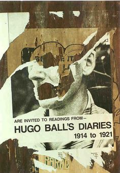 Hugo Ball's Diaries by 84rms, via Flickr