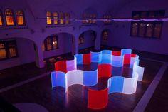 Fluorescent Acrylic Glass Art – Fubiz Media