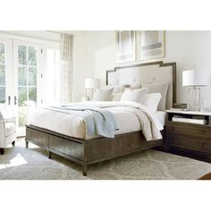 Milania Upholstered Storage Bed & Reviews | Joss & Main