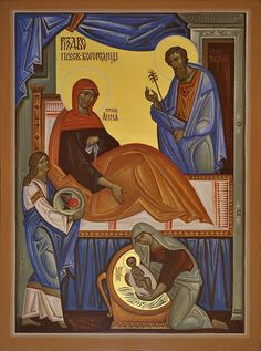 DROGA IKONY - warsztaty ikonopisania / The Way of Icon - Iconography workshop Religious Icons, Religious Art, Infancy, Art Icon, Orthodox Icons, Mother Mary, Sacred Art, Bible Art, Christianity