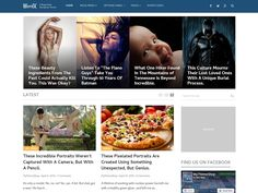 WordX #WordPressTheme appeals extremely professional due to the incorporation of HD images.