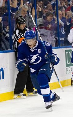Vincent Lecavalier, captain of the Tampa Bay Lightning