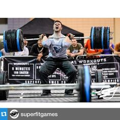 How can we not repost this awesome picture of Gnarly Athlete, @mattyice_85_kg at the @superfitgames ?・・・@mattyice_85_kg hits a clean PR at 360