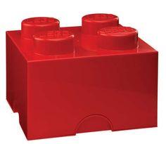 Lego Storage Brick 4 Red 000024 - Toysheik