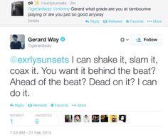 Gerard Way | tweet