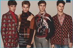 The 1970s style trend is well and alive with a series of nostalgic print sweaters.