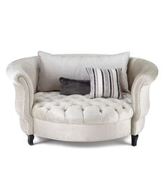 Silver Haute House Harlow Cuddle Chair