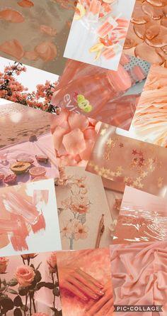Peach wallpaper