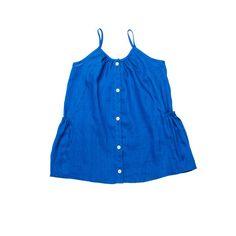Soor Ploom Prim Dress - Cobalt