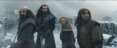 They never left Thorin's side. #TheHobbit