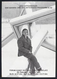 The Kippenberger - The Sahara and the Anti-Sahara Programme 81/82 1982 by Martin Kippenberger 1953-1997