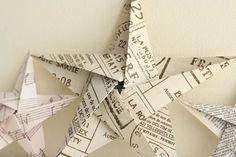 Origamitähti ja hyvät ohjeet