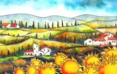 Love the luminescence of Massimo Cruciani's glass paintings - have one of them and smile every time i look at it