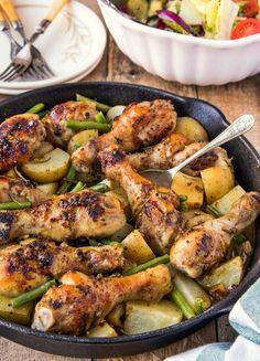 pałki kurczaka w sosie