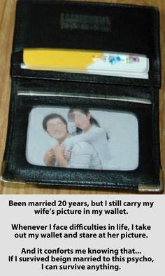 The best description of marriage…