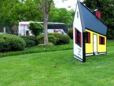 [Contemporary Art] Roy Lichtenstein's illusion work- House