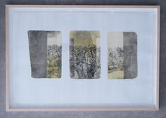 S. Smith limited edition print floated using Nurre Caxton Natural Maple frame by The Frame & Art Co.