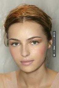 Angelic wedding makeup