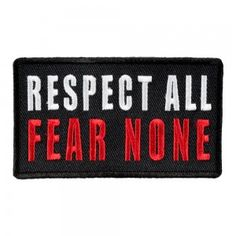 TWO WORDS ONE FINGER embroidered iron-on PATCH ANTI-SOCIAL BIKER VEST NAMETAG