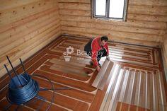 Облегченный теплый пол для деревянных перекрытий