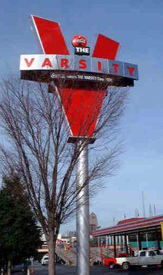 Varsity Drive-In In Atlanta, Ga.