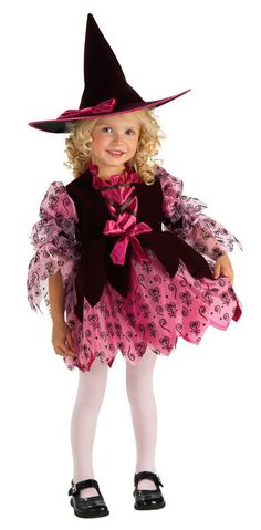 Look at this Chocolate Witch Dress-Up Set - Kids Toddler Costumes, Girl Costumes, Dance Costumes, Pink Halloween, Cool Halloween Costumes, Halloween 2014, Halloween Ideas, Witch Dress, Kids Birthday Themes