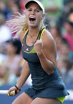 Caroline Wozniacki , Danish professional tennis player
