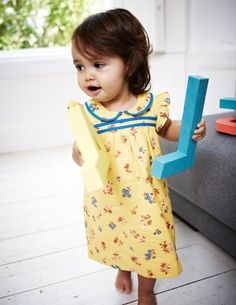 Sneak a peek at this Pretty Tea Dress from Baby Boden SS13