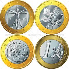 Gold Euro Coin Set