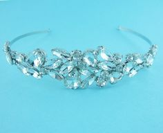 Bridal Headband crystal rhinestone wedding by AllureWeddingJewelry