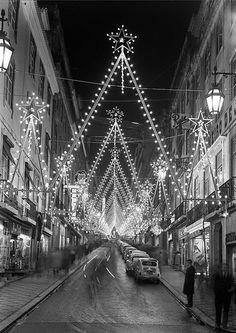 Iluminações de Natal, Lisboa, Portugal