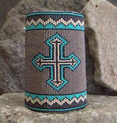 Southwestern Beaded Cuff Bracelet 2097