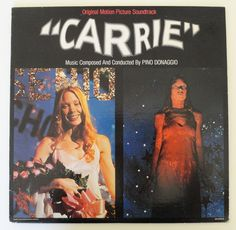 Rare Carrie Vinyl Soundtrack 1976  Very Good by MovieVinyl on Etsy, $18.00