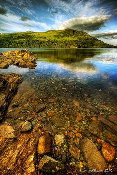 Loch Katrine, Trossachs, Scotland.  Photo by Karl Williams