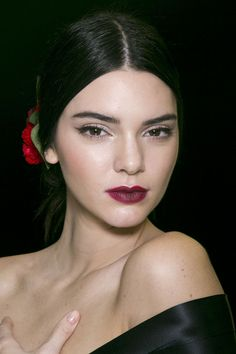 Kendall Jenner at Dolce & Gabbana #MFW