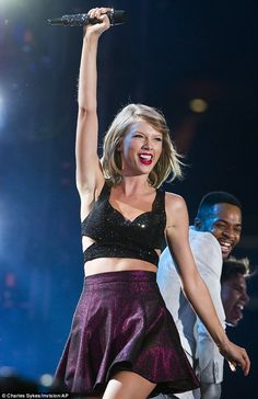 Taylor Swift is back on stage as part of her 1989 World Tour