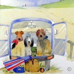 """Milkwood publishing """"A day at the beach"""""""