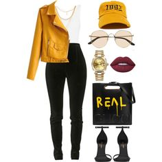 A fashion look from December 2016 featuring Balmain leggings, Yves Saint Laurent pumps and Gucci tote bags. Browse and shop related looks. Fashion Mode, Fashion Killa, Love Fashion, Autumn Fashion, Womens Fashion, Fashion Trends, Polyvore Outfits, Polyvore Fashion, Mode Outfits