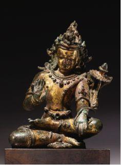 15th-c-cir-nepal-padmapani-gilt-copperstones-152-cm-sothebys.png (281×385) 15th century circa, Nepal, late Malla period, bodhisattva Avalokiteshvara Padmapani, gilt copper. 15th century circa, Nepal, bodhisattva Avalokiteshvara ...