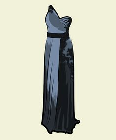 Kate Winslet's Yves Saint Laurent dress from the 2009 Academy Awards.