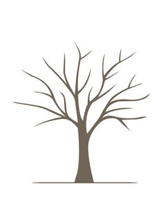 Free Tree Printable Family Tree Craft Template Ideas