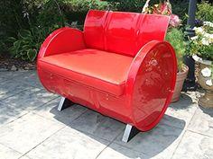 Drum Works Furniture 1025 Red on Red Armchair Drum Works ...
