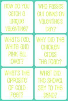 Valentine Jokes For Kids Free Printable
