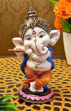 Make this Ganesha Chathurthi 2020 special with rituals and ceremonies. Lord Ganesha is a powerful god that removes Hurdles, grants Wealth, Knowledge & Wisdom. Ganesh Chaturthi Decoration, Happy Ganesh Chaturthi Images, Shri Ganesh Images, Ganesha Pictures, Clay Ganesha, Ganesha Art, Ganpati Bappa Wallpapers, Ganesh Photo, Ganesh Lord